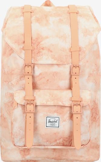 Herschel Rugzak in de kleur Sinaasappel / Wit, Productweergave