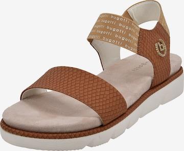 bugatti Sandale in Braun