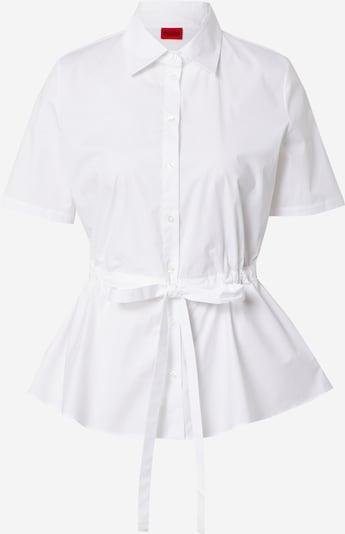 HUGO Blouse 'Ezina' in de kleur Offwhite, Productweergave