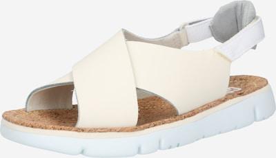 CAMPER Sandály 'Oruga' - krémová / světle šedá / bílá, Produkt