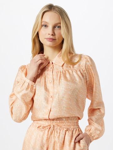 NUÉ NOTES - Blusa 'JENNI' en beige