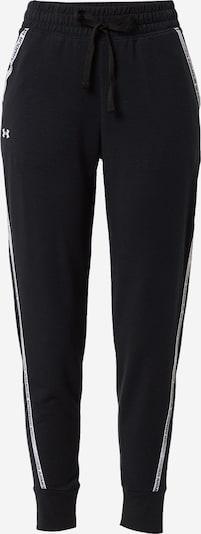 UNDER ARMOUR Sportbroek in de kleur Zwart / Wit, Productweergave