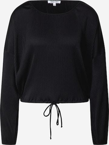 ABOUT YOU Skjorte 'Tia Shirt' i svart