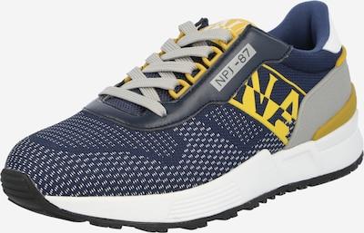 NAPAPIJRI Sneaker 'SPARROW' in navy / gelb / grau, Produktansicht
