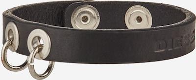 DIESEL Armband 'A-VELA' in de kleur Zwart / Zilver, Productweergave