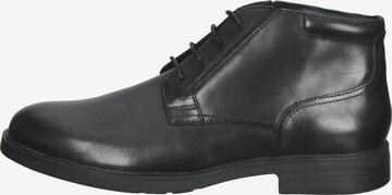 Chaussure à lacets GEOX en noir