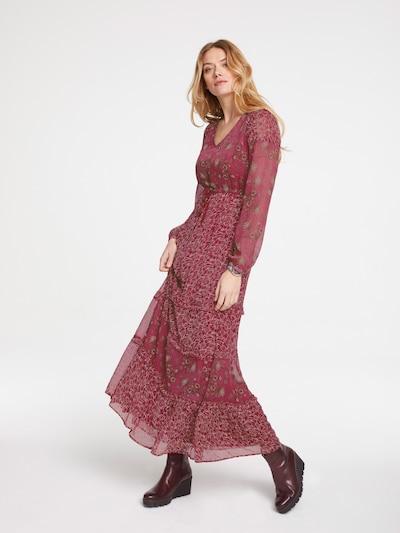 heine Kleid in rot, Modelansicht
