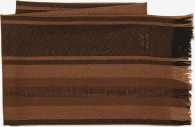MJM Schal 'Marco' in karamell / hellbraun / dunkelbraun, Produktansicht