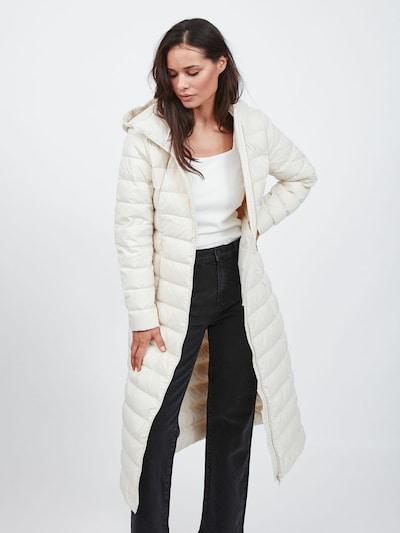 VILA Mantel in creme, Modelansicht