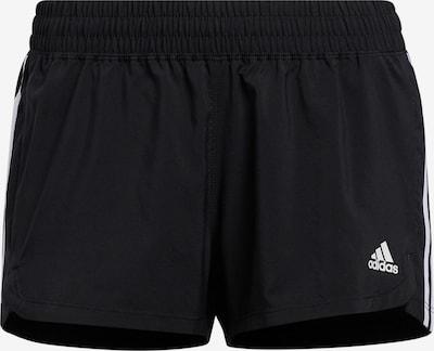 ADIDAS PERFORMANCE Shorts 'PACER 3S WVN' in schwarz / weiß, Produktansicht