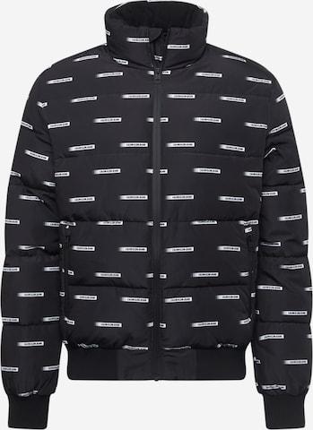Giacca di mezza stagione di Calvin Klein Jeans in nero