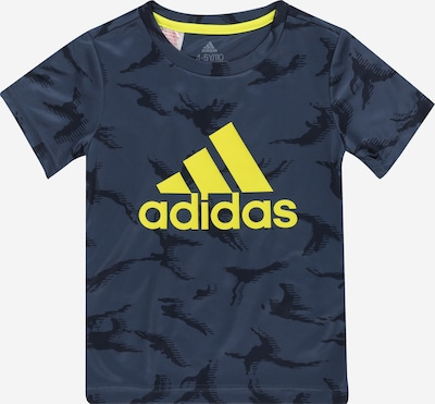 ADIDAS PERFORMANCE Functional shirt in Navy / Yellow, Item view