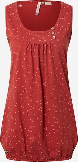Ragwear Top 'GISELLE' in rosa / rostrot, Produktansicht