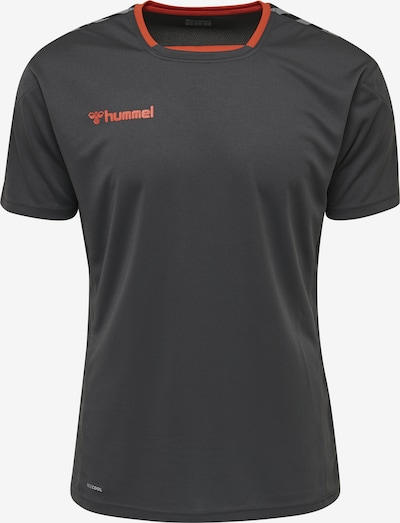 Hummel Trainingsshirt in orange / schwarz, Produktansicht