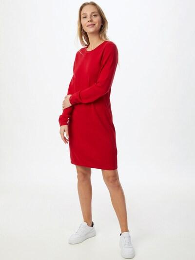 EDC BY ESPRIT Kleid in dunkelrot, Modelansicht