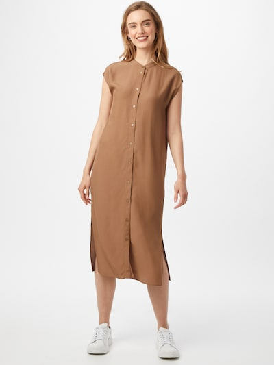 OPUS Kleid 'Wimila' in hellbraun, Modelansicht
