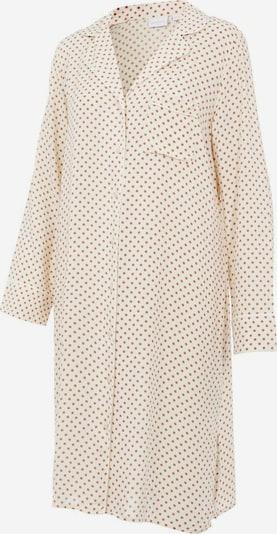 MAMALICIOUS Nachthemd in creme / rostbraun, Produktansicht