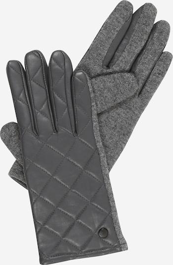 ESPRIT Full finger gloves in grey, Item view