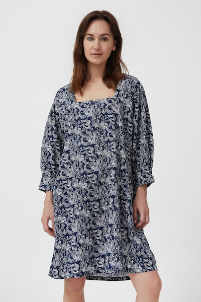 Finn Flare Sommerkleid in blau: Frontalansicht