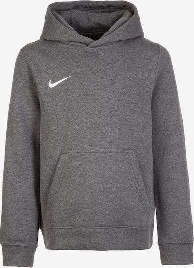 NIKE Sportsweatshirt 'Club 19 ' in basaltgrau / weiß, Produktansicht