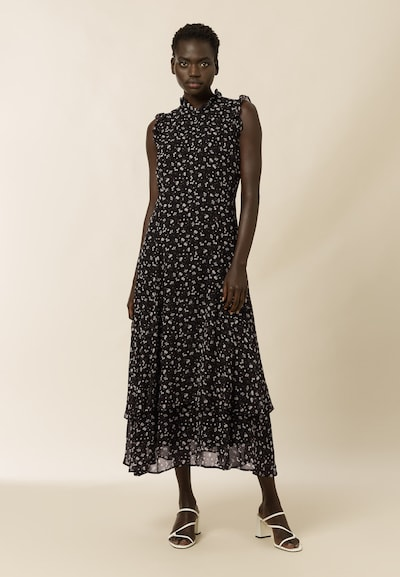 IVY & OAK Jurk 'Ivory' in de kleur Zwart / Wit, Modelweergave