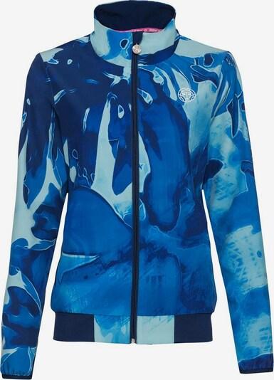 BIDI BADU Jacke Gene Tech mit ausgefallenem Muster in blau, Produktansicht