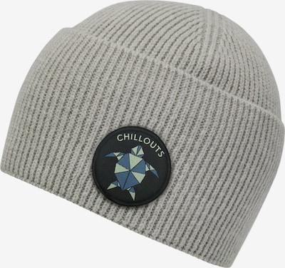 Megzta kepurė 'Ocean' iš chillouts , spalva - pilka / pastelinė žalia / juoda, Prekių apžvalga