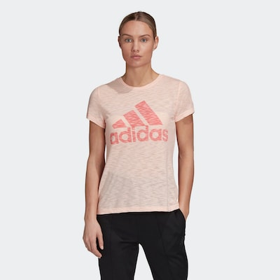 ADIDAS PERFORMANCE Functioneel shirt in de kleur Pink / Rosa: Vooraanzicht