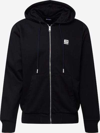DIESEL Sweatjacke 'GIRK' in schwarz, Produktansicht