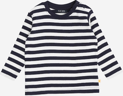 BLUE SEVEN Shirt in nachtblau / weiß, Produktansicht