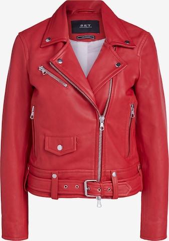 SET Overgangsjakke i rød