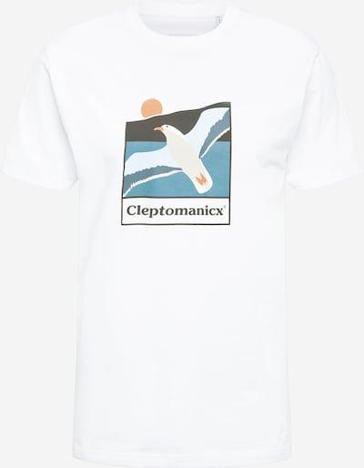 Cleptomanicx T-Shirt 'Save Them' in mischfarben / weiß, Produktansicht