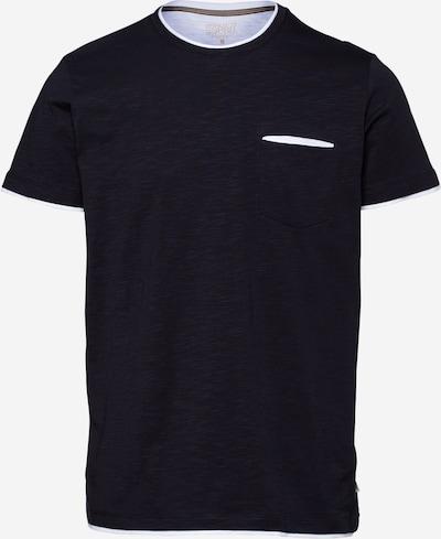 ESPRIT T-Shirt en bleu marine / blanc, Vue avec produit