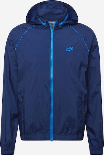 Nike Sportswear Tussenjas in de kleur Blauw / Navy, Productweergave