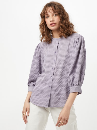 JDY Blouse 'PHOEBE' in de kleur Lavendel, Modelweergave