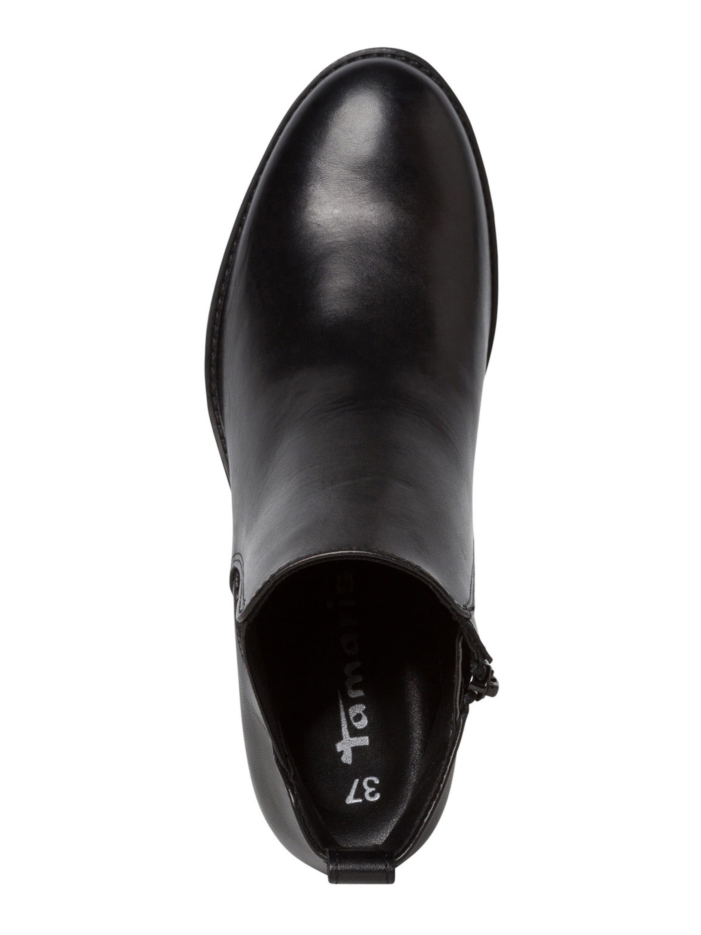 TAMARIS Chelsea boots i svart