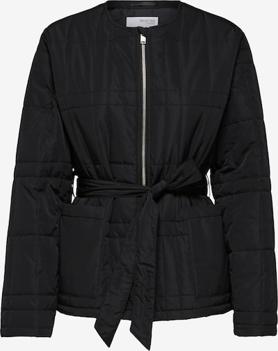 SELECTED FEMME Jacke 'Plastic Change' in schwarz, Produktansicht