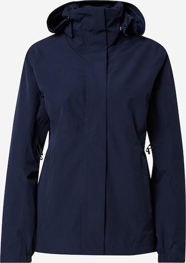 MAMMUT Outdoorjas 'Trovat' in de kleur Nachtblauw / Grijs, Productweergave