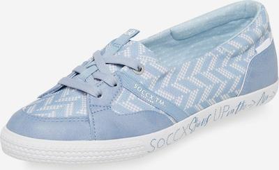Soccx Ballerina in hellblau, Produktansicht