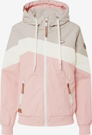 Ragwear Veste fonctionnelle 'Nuggie' en beige / rose / blanc, Vue avec produit