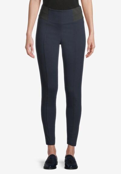 Betty Barclay Basic-Hose mit elastischem Bund in dunkelblau, Modelansicht