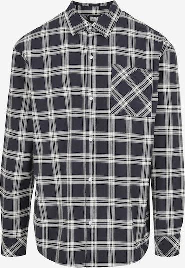 Urban Classics Hemd in schwarz / weiß, Produktansicht