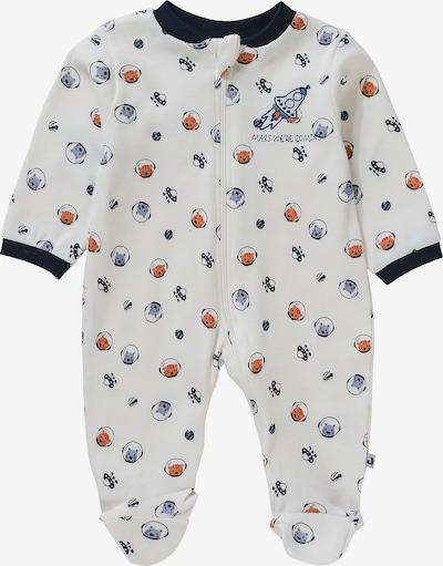 JACKY Schlafanzug in mischfarben / weiß, Produktansicht