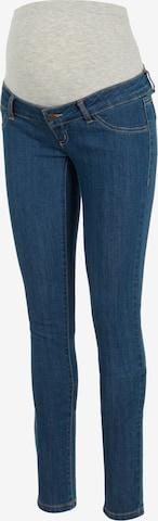 MAMALICIOUS Jeans 'Julia' i blå