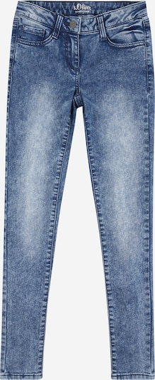 s.Oliver Junior Jeans ' SURI' in blue denim, Produktansicht