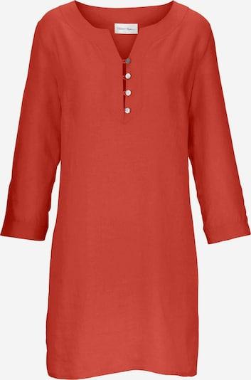 Peter Hahn Tunika Tunika aus 100% Leinen in orange / rot / orangerot, Produktansicht