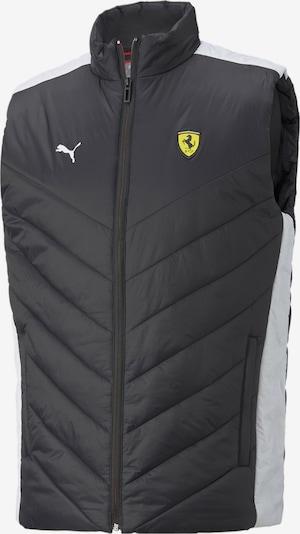 PUMA Sportweste 'Scuderia Ferrari Race' in schwarz / weiß, Produktansicht