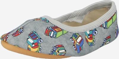 BECK Mājas apavi pelēks / jauktu krāsu, Preces skats