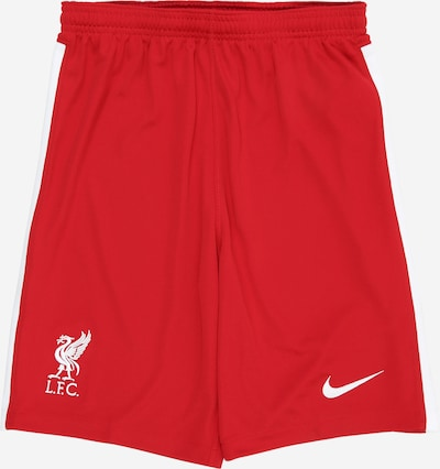 NIKE Sporthose 'Liverpool FC 2020/21 Stadium Home/Away' in rot / weiß, Produktansicht