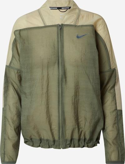 NIKE Športna jakna 'Clash' | oliva / mešane barve barva, Prikaz izdelka